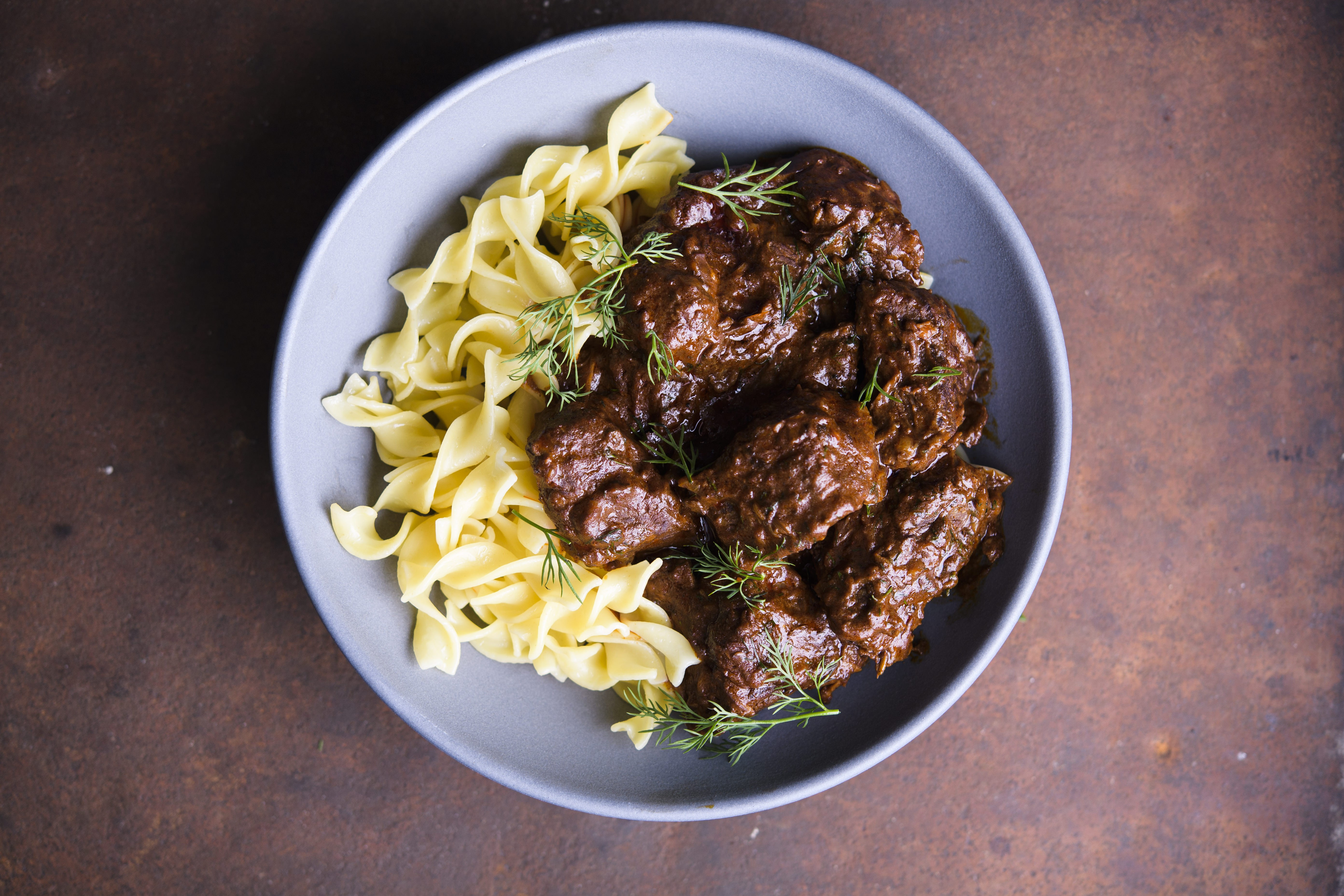 Austrian Beef Stew with Paprika and Caraway