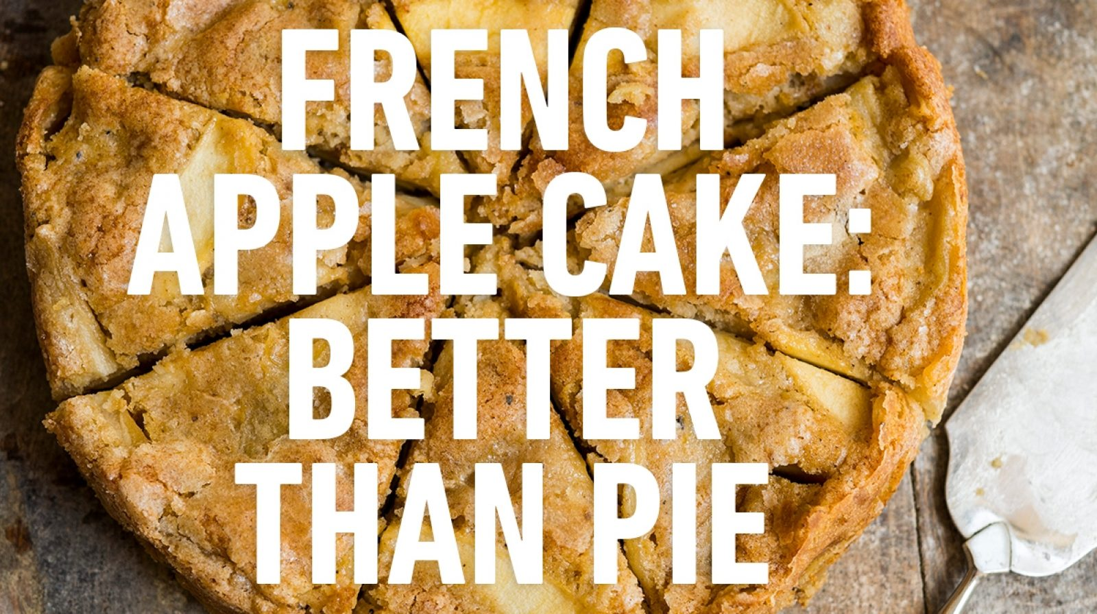 French Apple Cake Milk Street