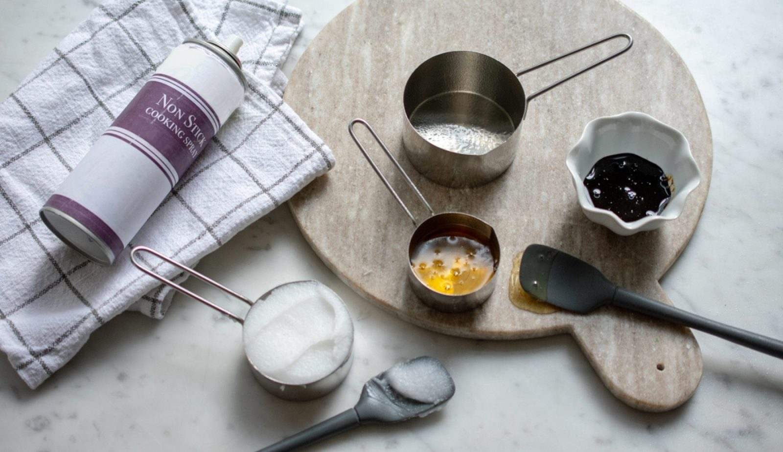 A Clever Trick for Measuring Sticky Ingredients