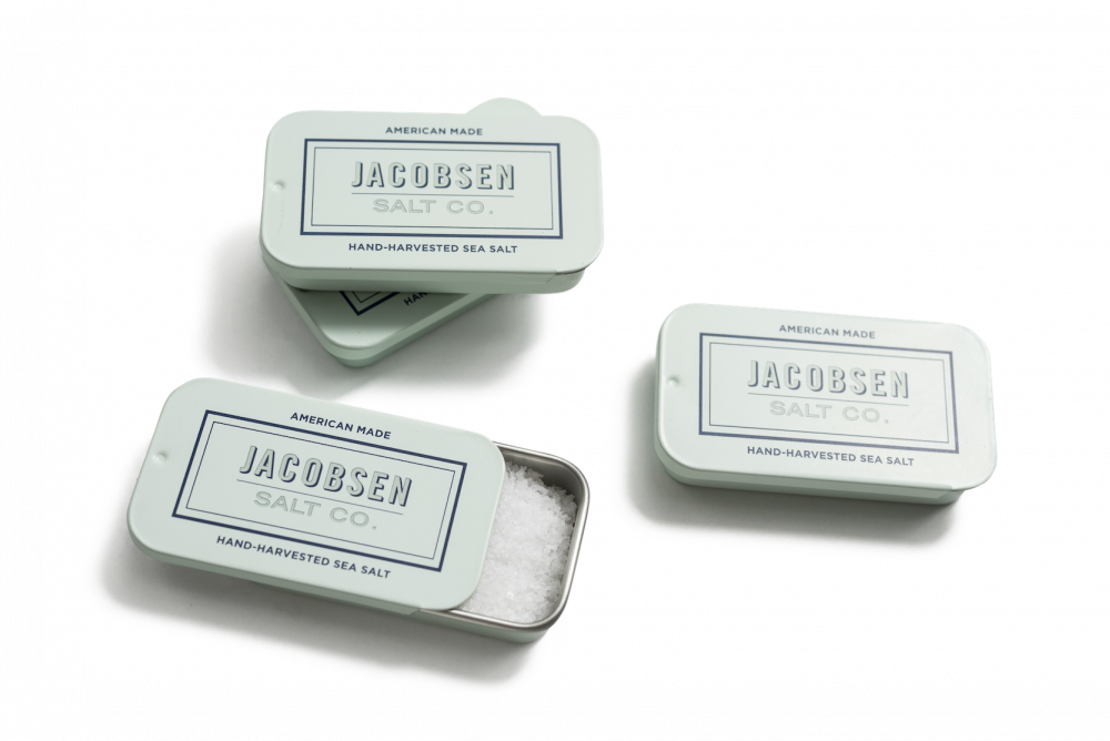 Jacobsen Salt Co. Mini Sea Salt Tins