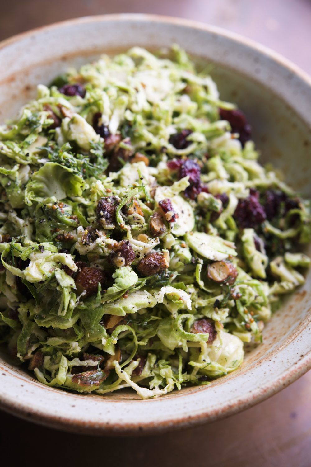 Buttery Brussels Sprouts Slaw