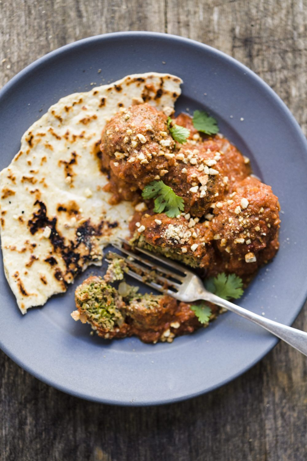 Cashew-Coconut Meatballs with Creamy Spiced Tomato Sauce (Tuesday Nights)