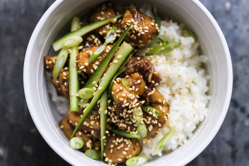 Chicken Teriyaki Donburi