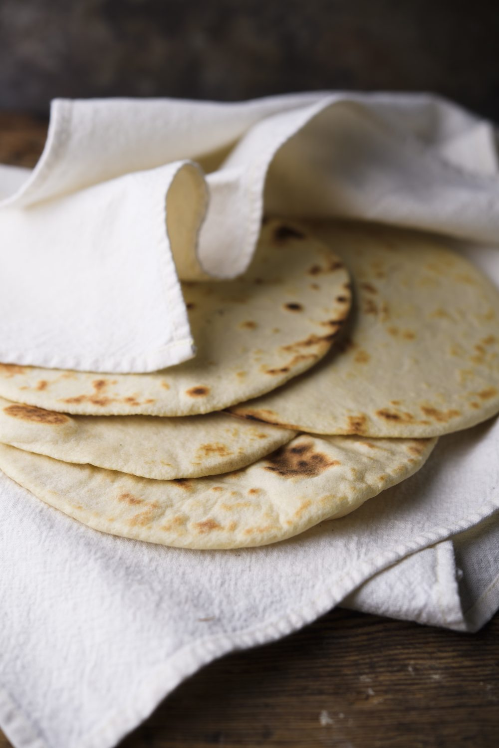 Coconut Milk–Flour Tortillas
