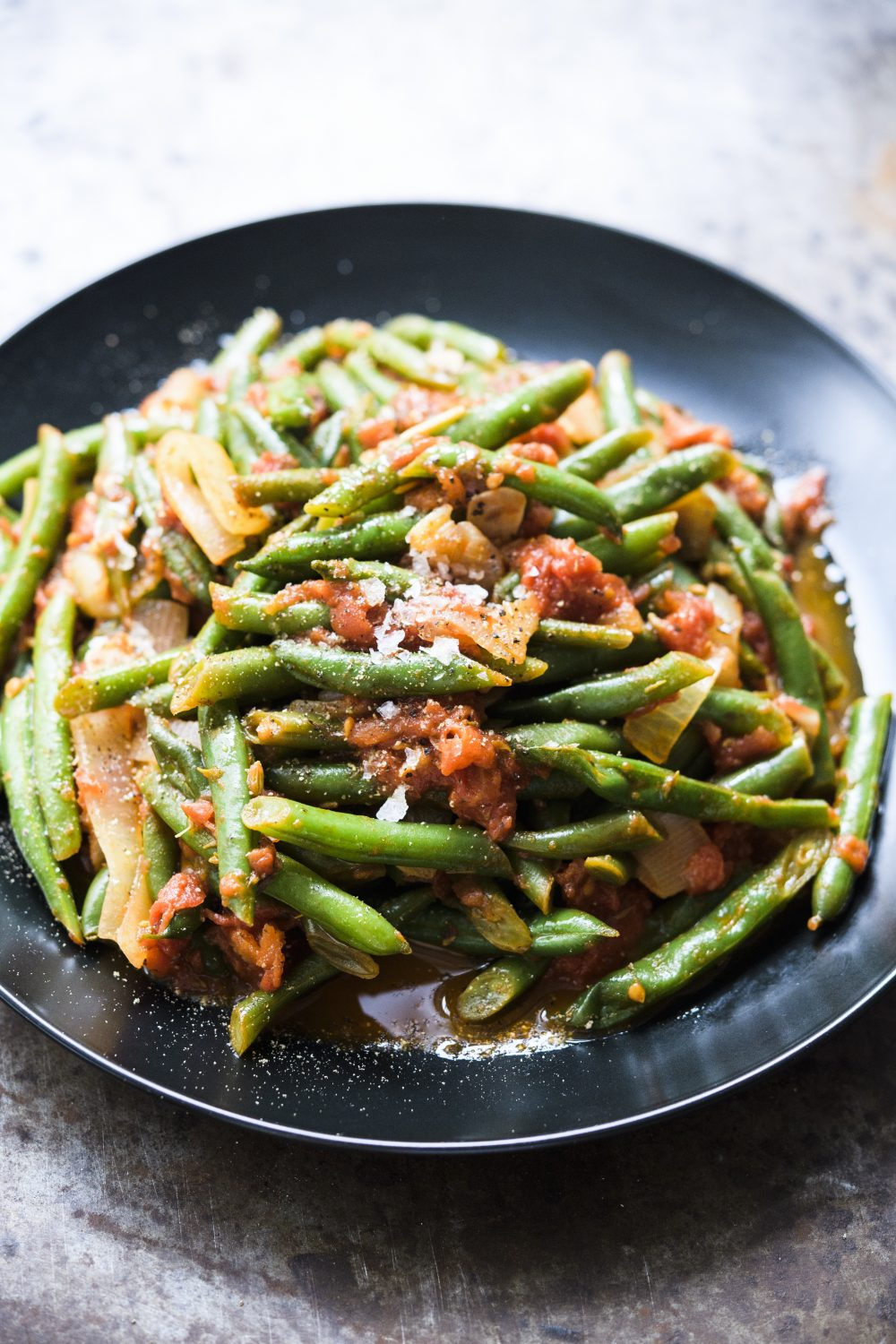 Green Beans with Fennel-Tomato Sauce
