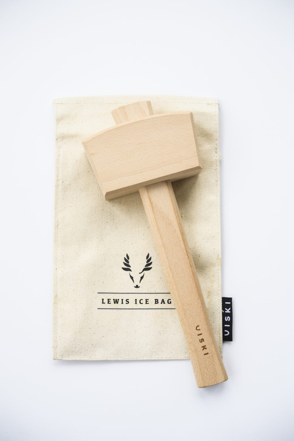 Keep crushed ice contained: The Lewis bag muffles the sound and soaks up the mess that pounding ice creates.