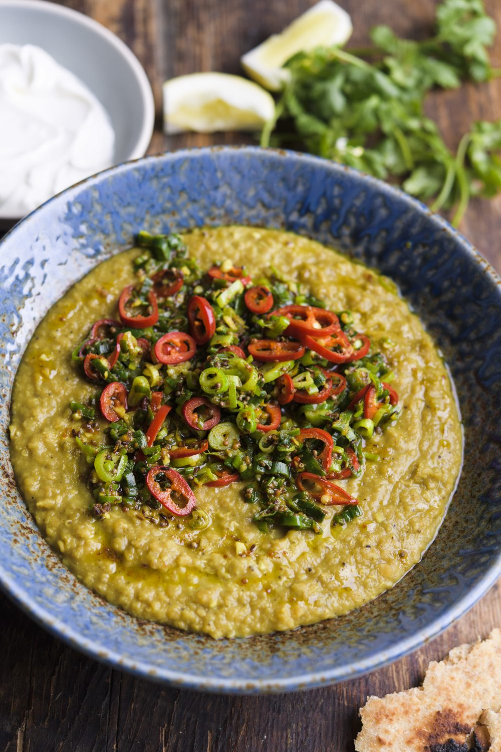 Indian Lentils with Spiced Oil (Tarka Dal)