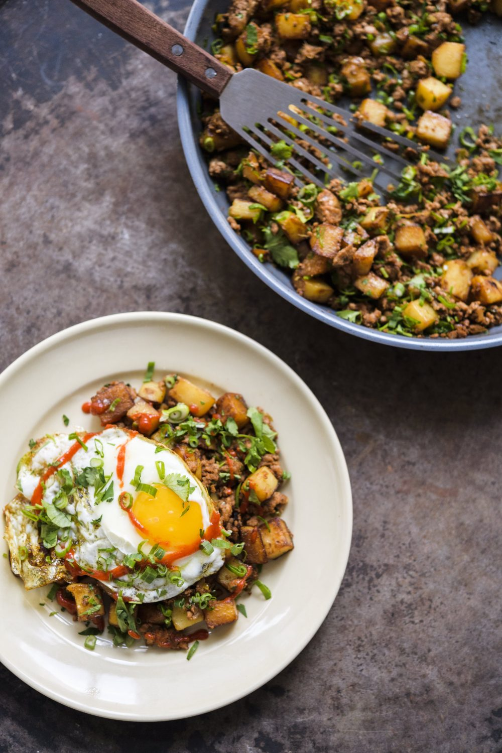 Macanese Meat-and-Potato Hash (Minchi)