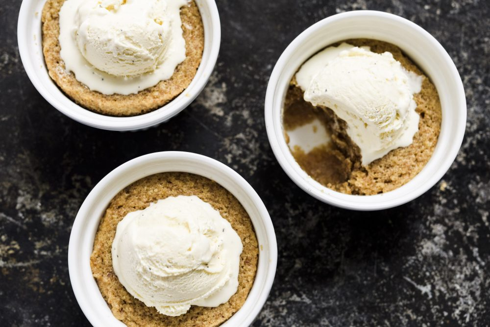 Maple-Whiskey Pudding Cake