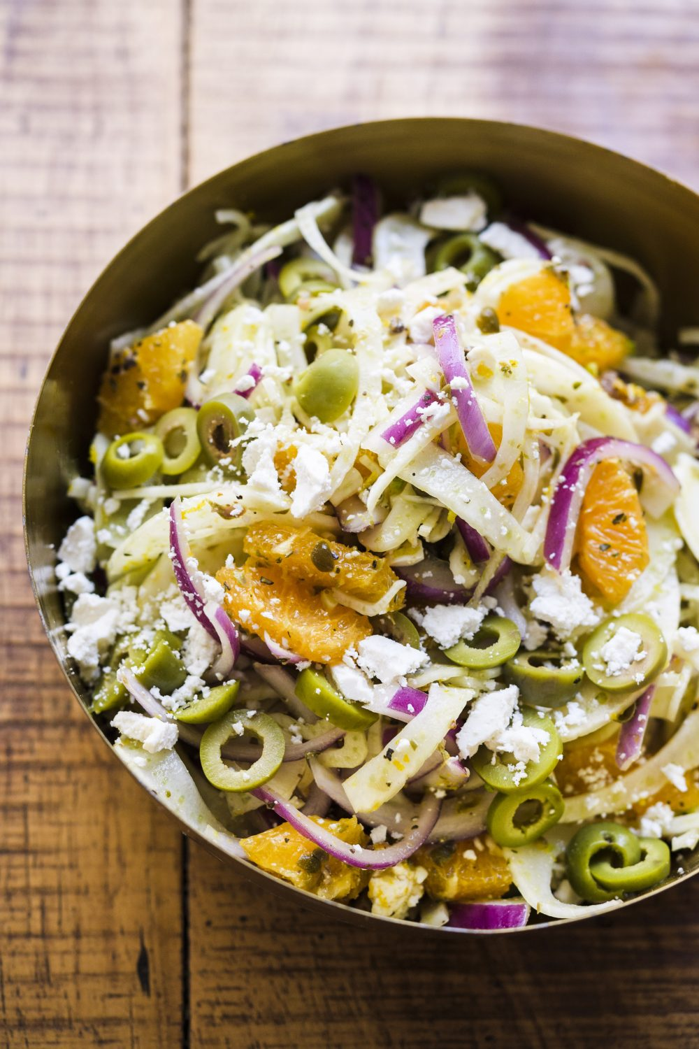 Orange, Fennel and Caper Salad