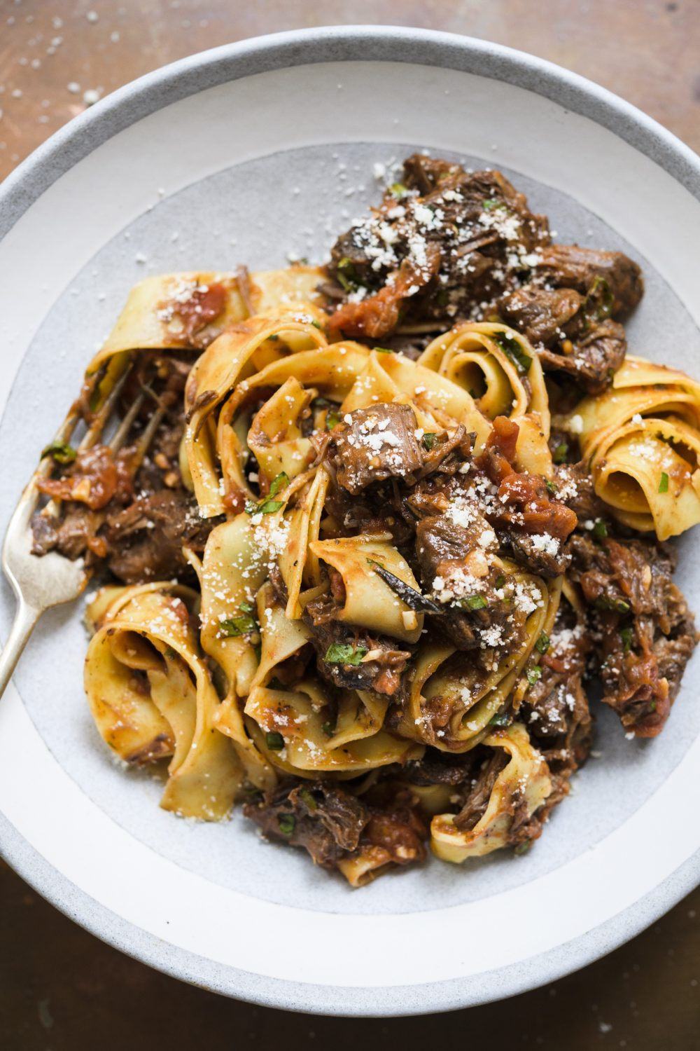 Pappardelle with Tuscan Beef Ragù