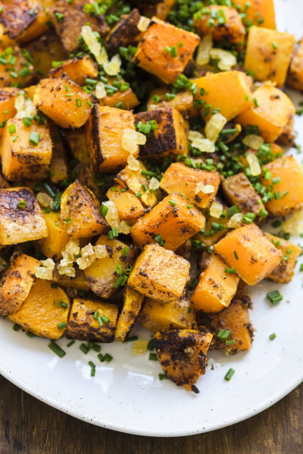 Roasted Butternut Squash with Ginger and Five-Spice