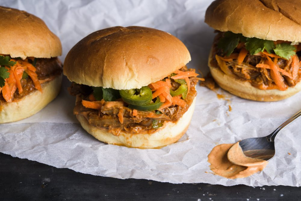 The Sunday Cook: Miso-Gochujang Pulled Pork