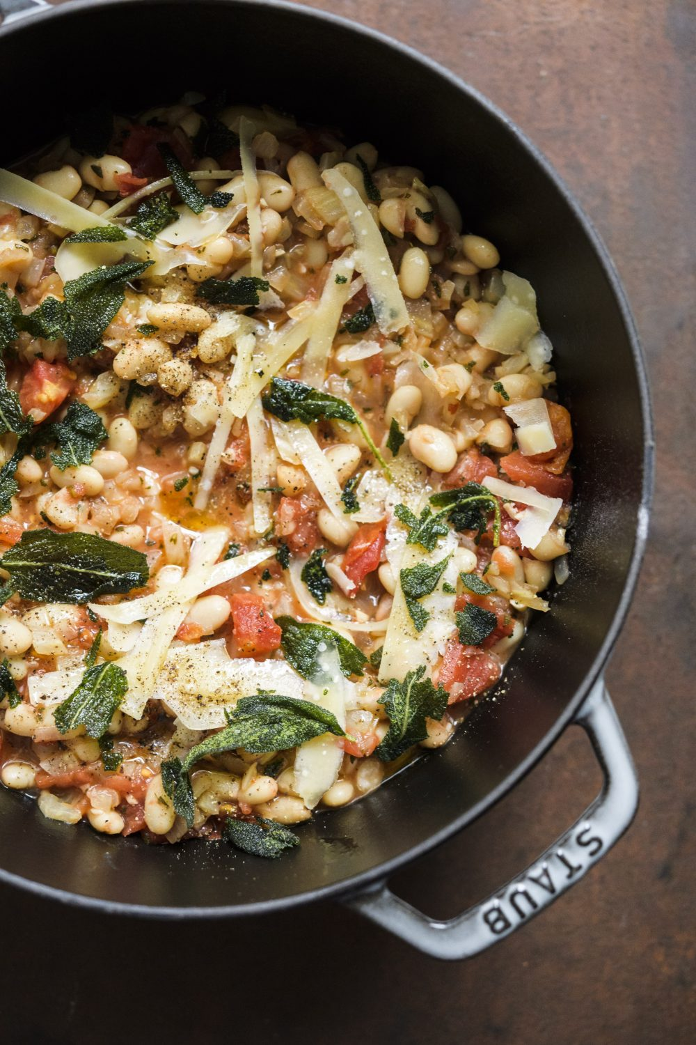 White Beans with Sage, Garlic and Fennel