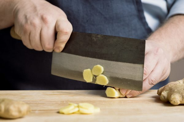 A Better Way To Mince Ginger Using The Chinese Vegetable Cleaver