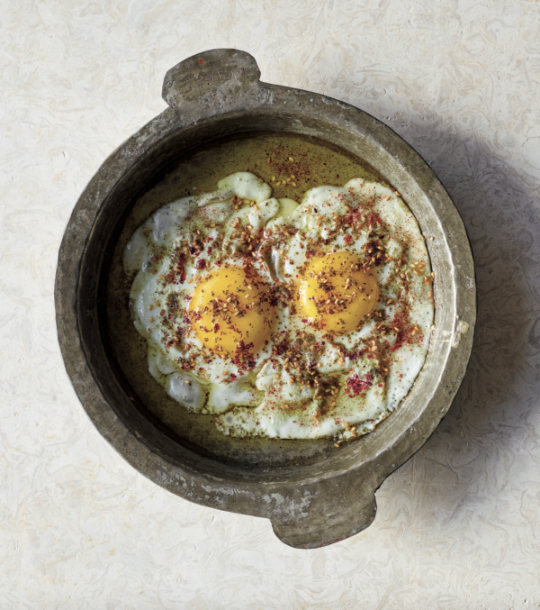 Fried Eggs with Za'atar and Sumac