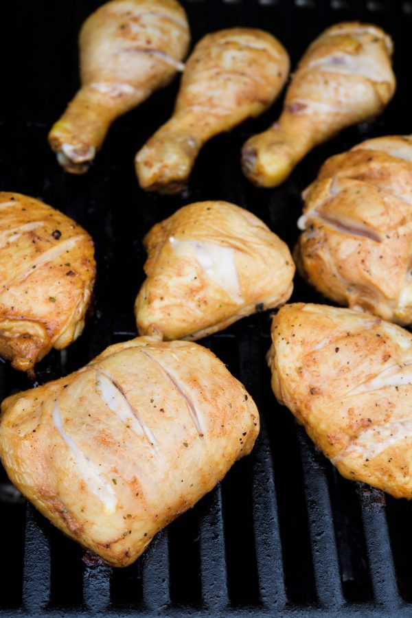 Lemon-Lime Lacquered Grilled Chicken Step 5