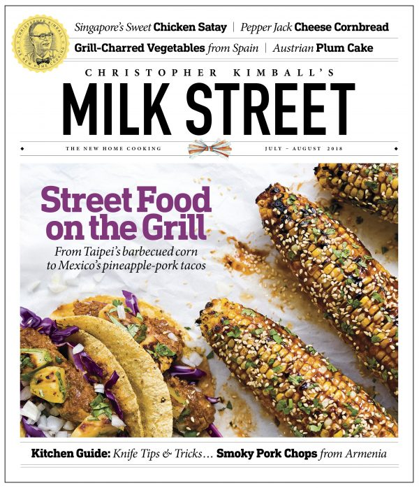 Milk Street Magazine July-August 2018 Cover