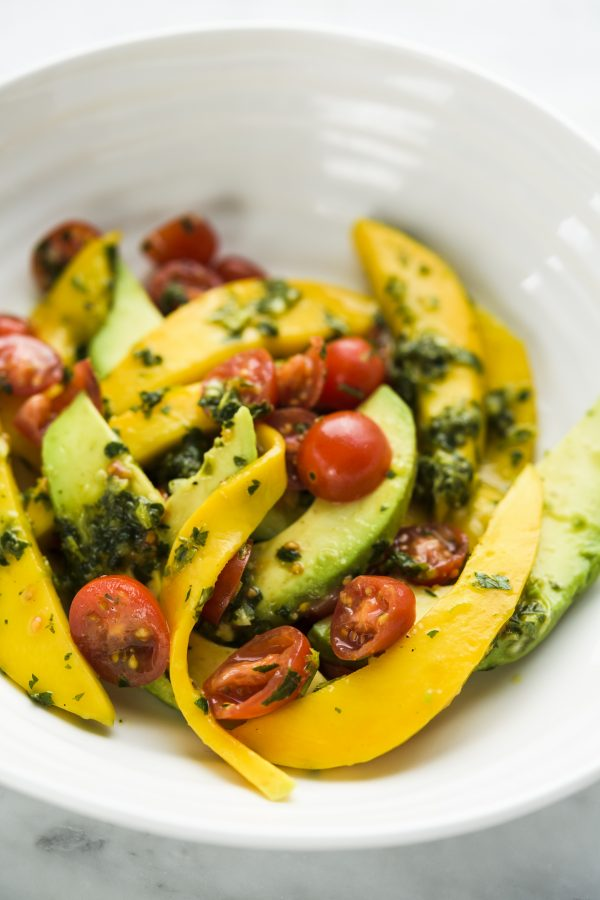 Senegalese Avocado and Mango Salad