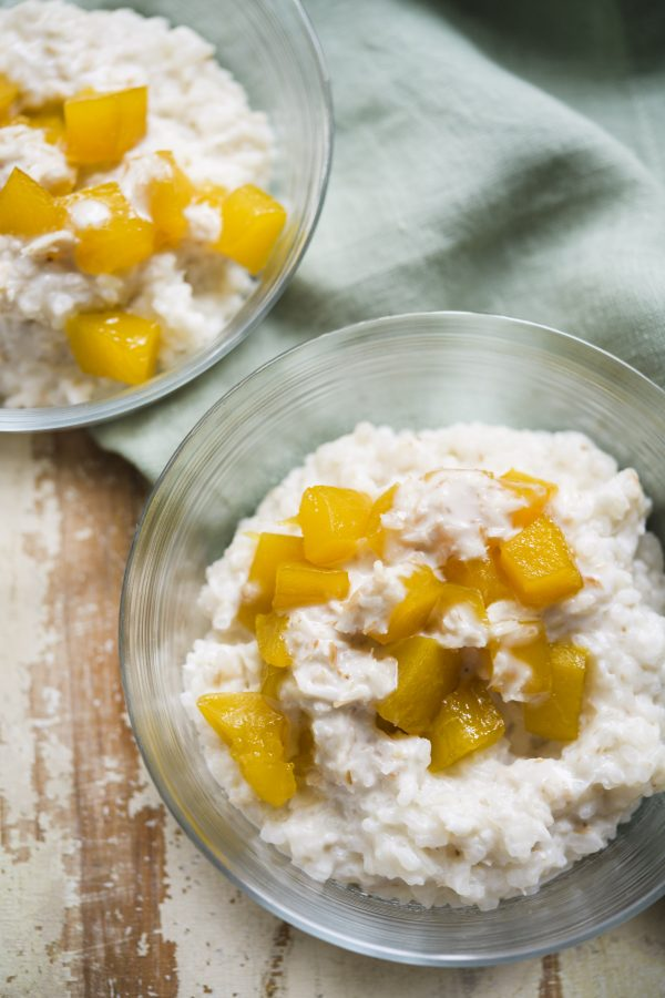 Senegalese Mango and Coconut Rice Pudding