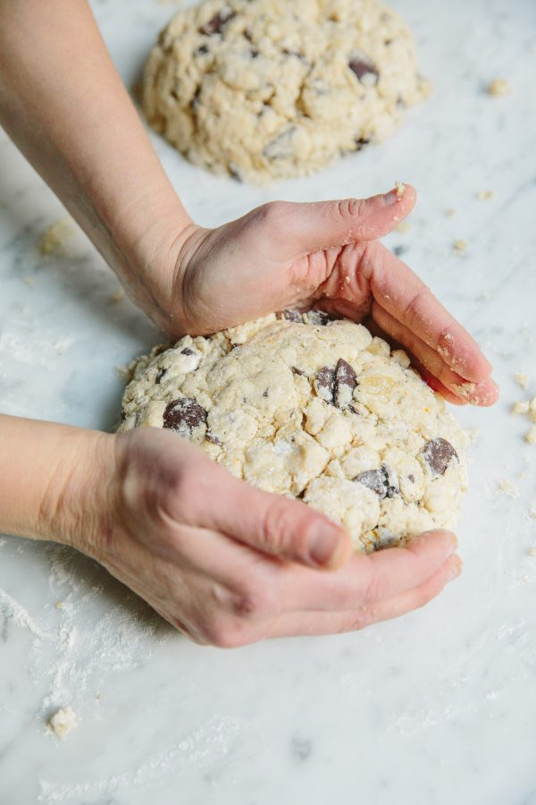 Triple Ginger Scones with Chocolate Chunks Step 3