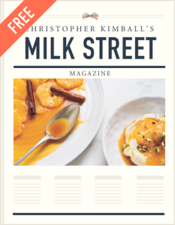 Christopher Kimball's Milk Street magazine free charter issue