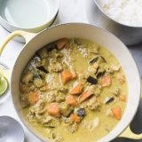 Cambodian White Pepper Coconut-Curry Chicken (Amok) V