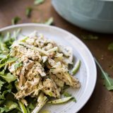 Chicken Salad with Apple, Celery Root and Fennel
