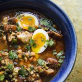 Chickpea and Harissa Soup (Lablabi)