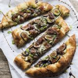 Fig, Blue Cheese and Prosciutto Pizza