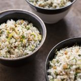 Lemon and Herb Pilaf with Hazelnuts