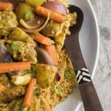 North African Chicken Couscous