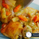 Quick Weeknight Chicken, Flavored with Belgian Ale