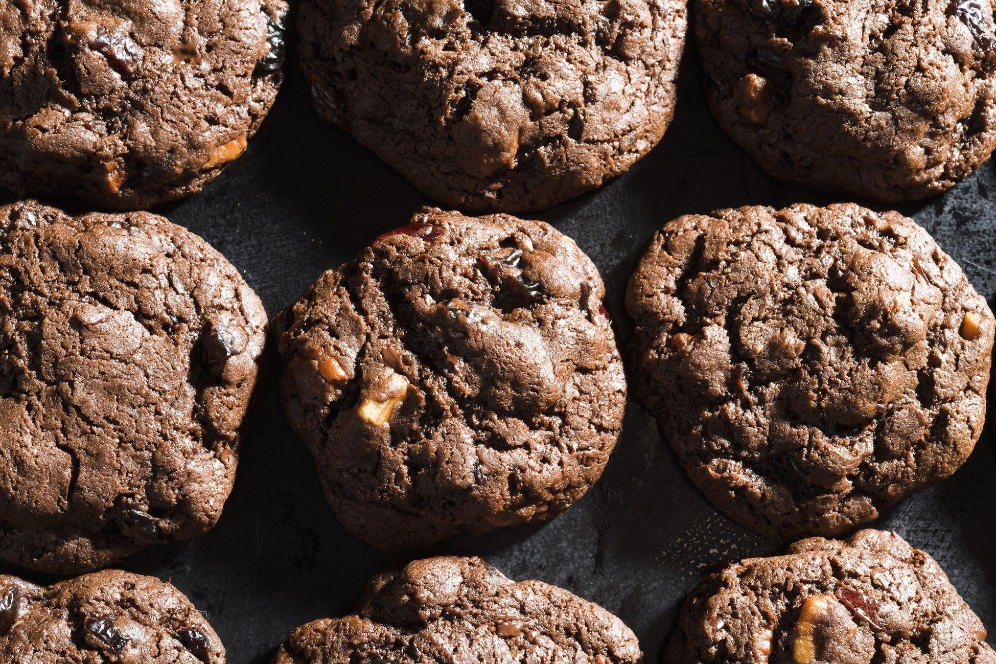 Dried Cherry–Chocolate Chunk Cookies