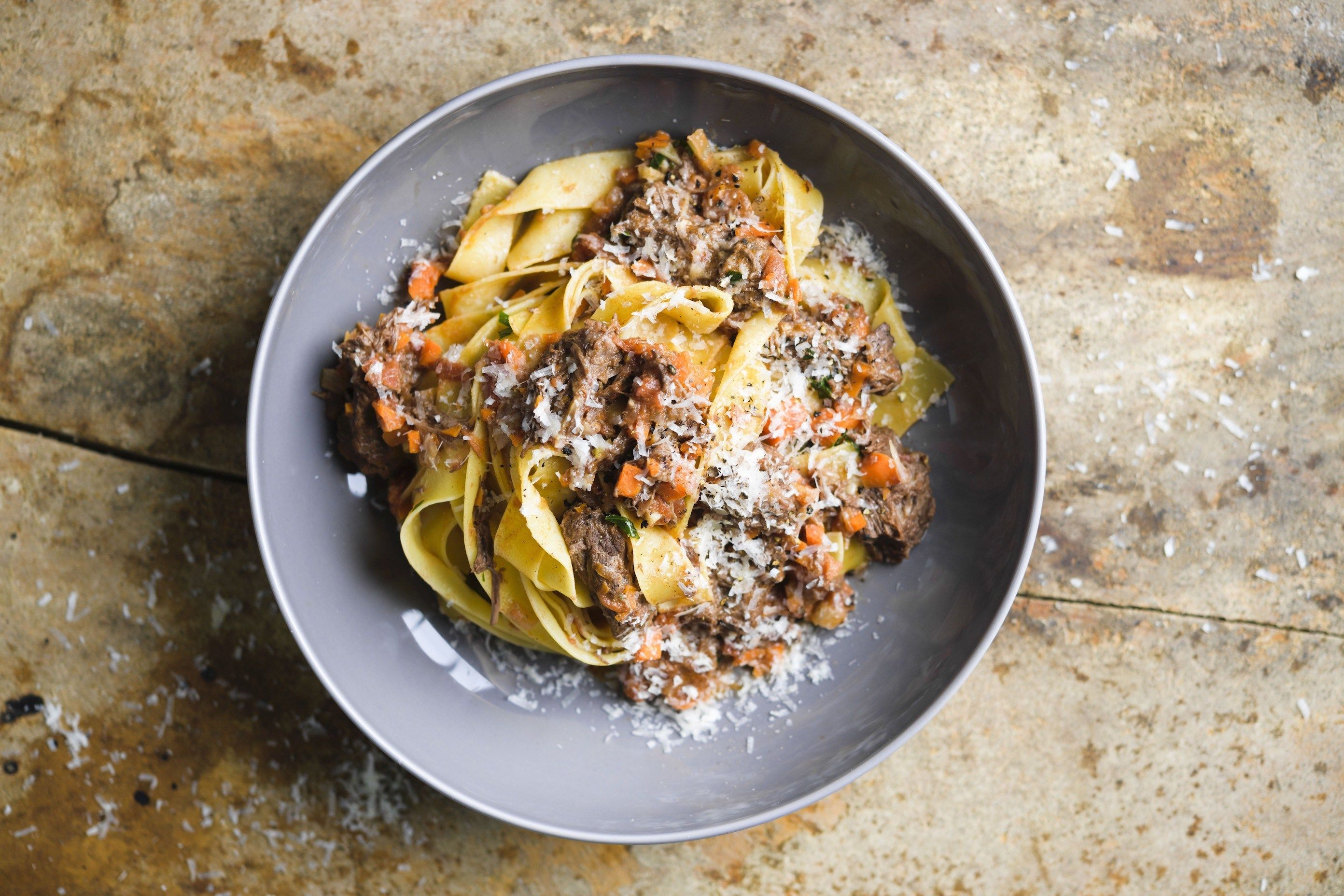 Short Rib Ragu with Pappardelle
