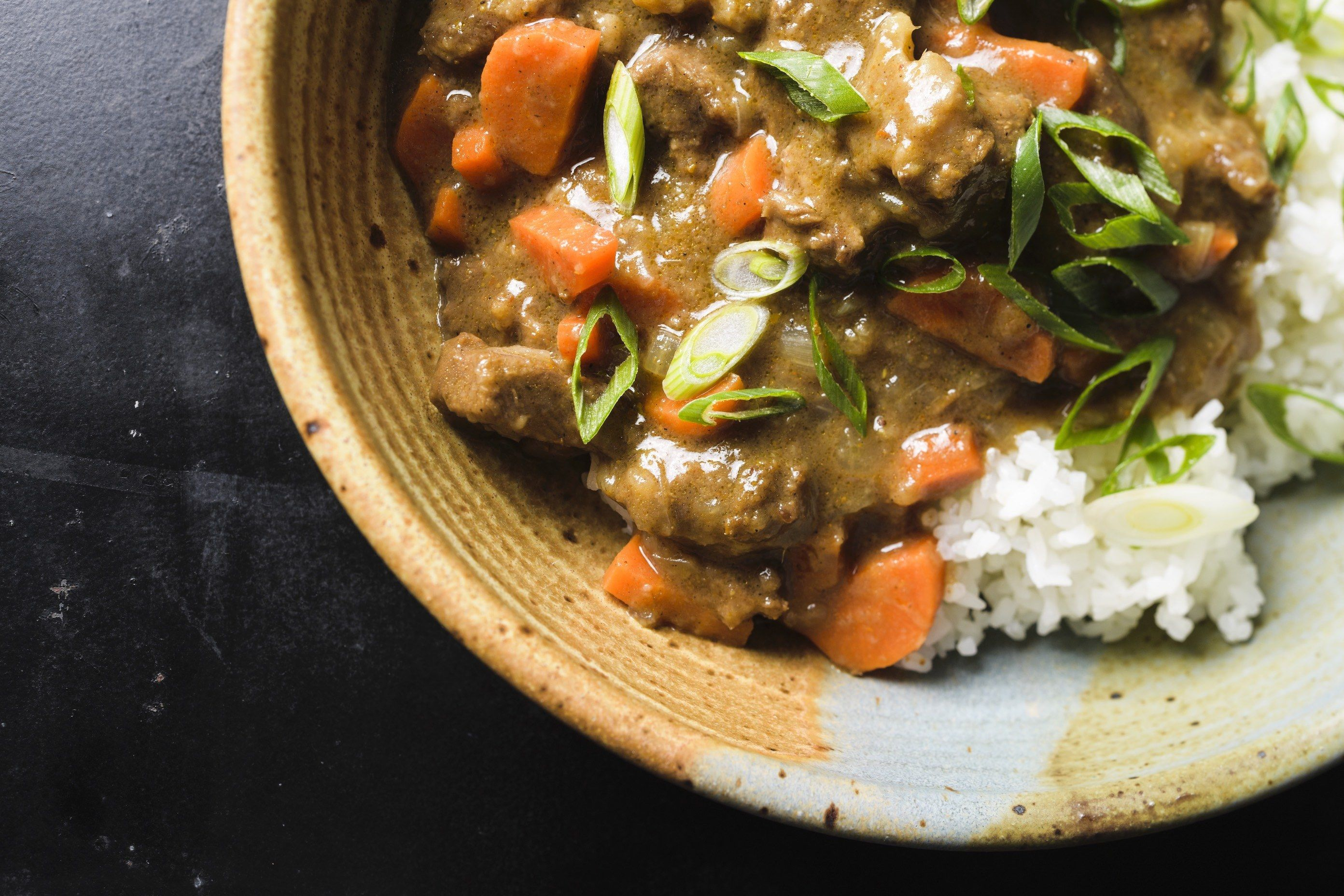 Japanese-Style Beef Curry