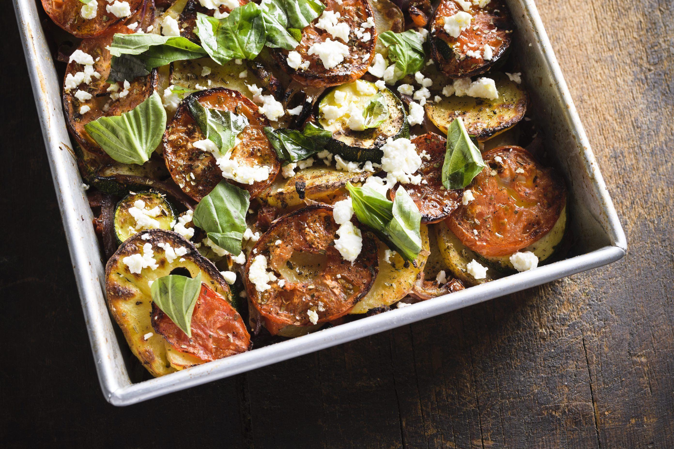 Greek Baked Vegetables (Briam)