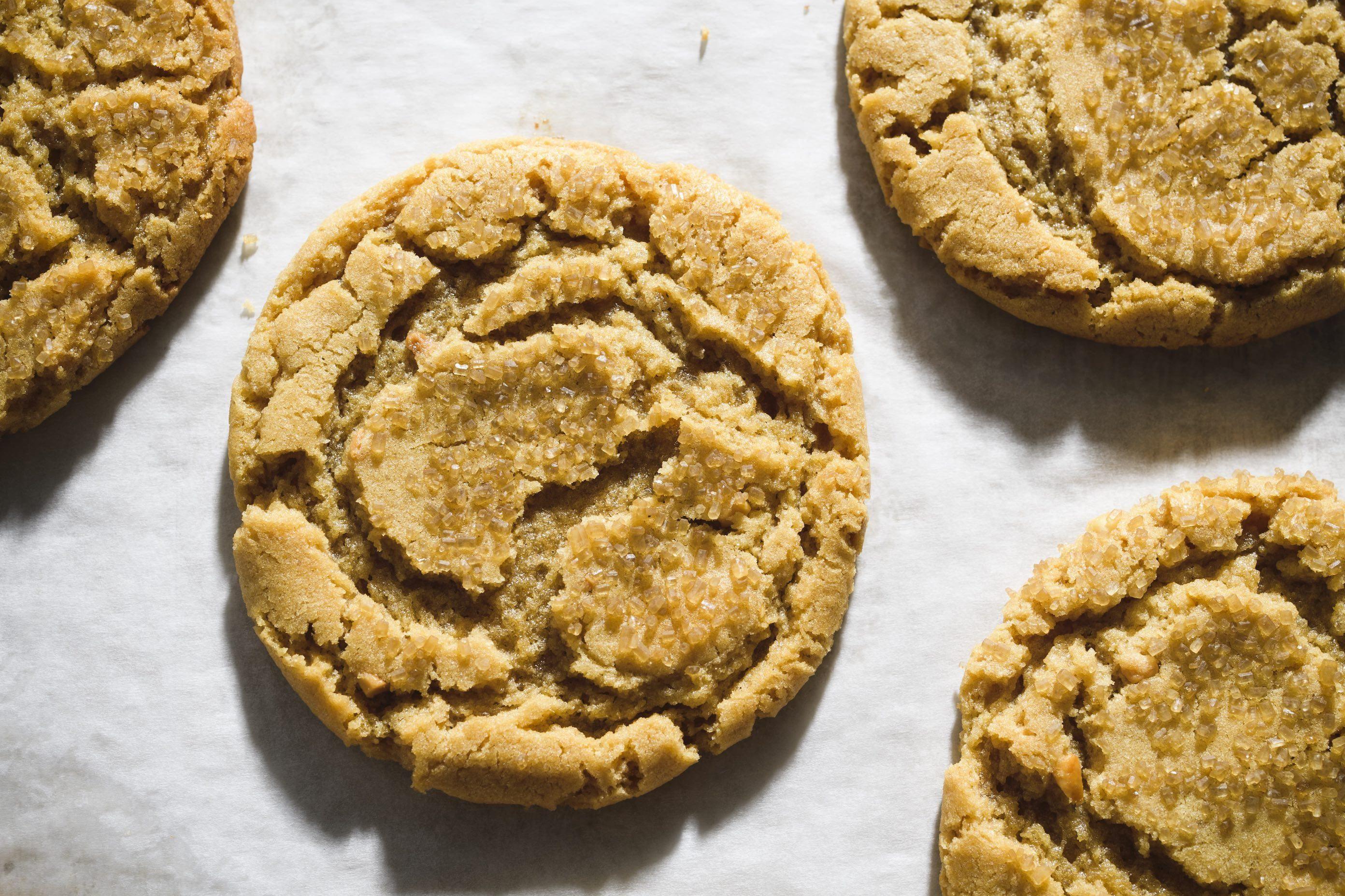 Peanut Butter–Miso Cookies
