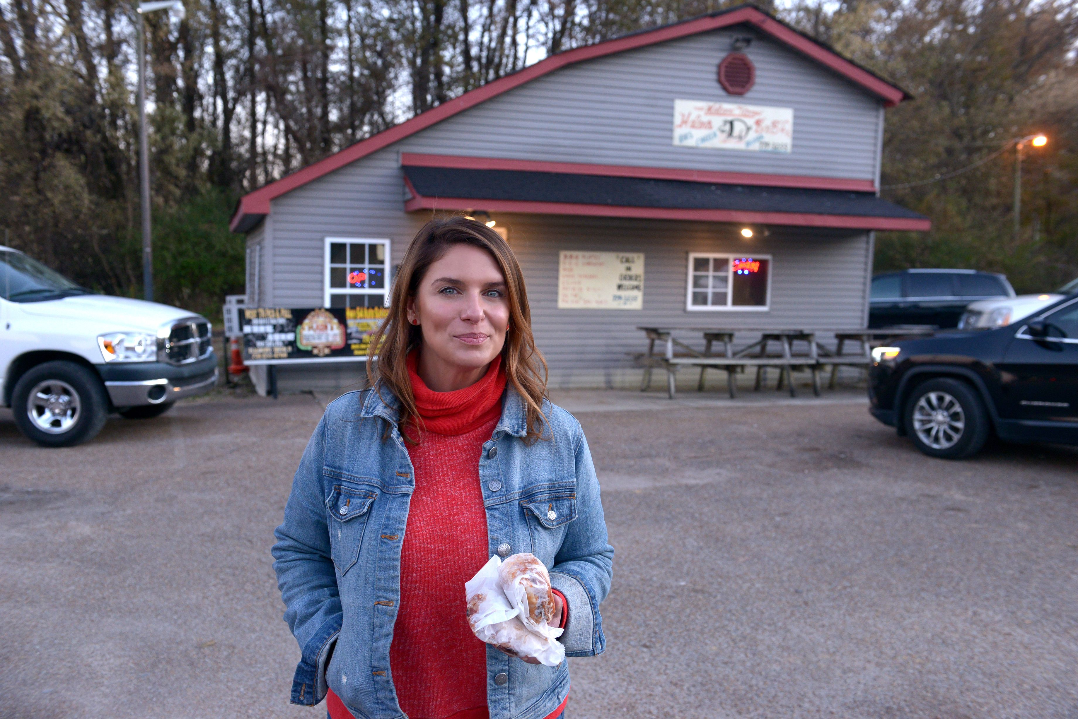 "Vivian Howard Takes Us ""Somewhere South"" for Stewed Greens and Grits"
