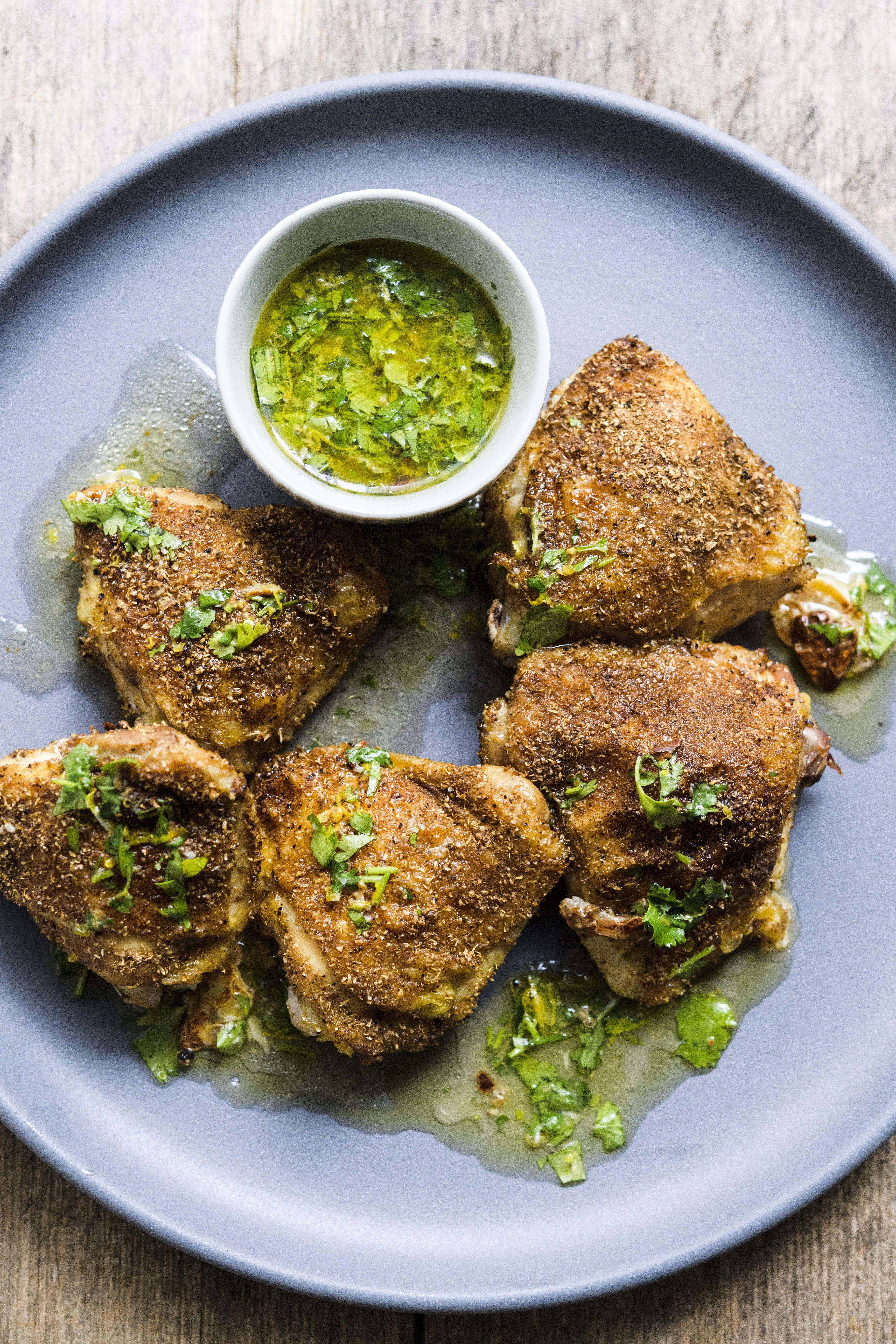 Coriander-Roasted Chicken