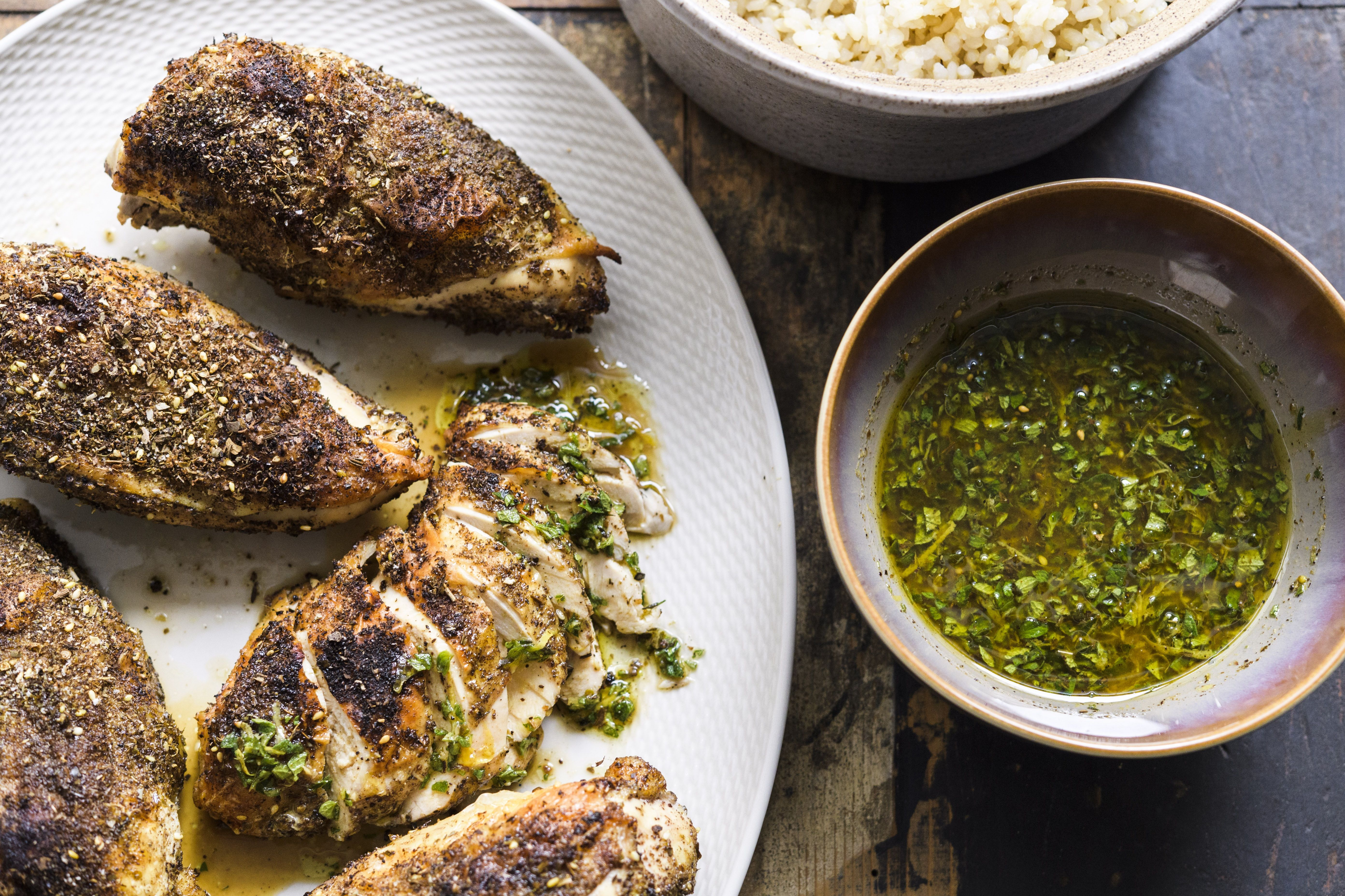 Za'atar-Roasted Chicken
