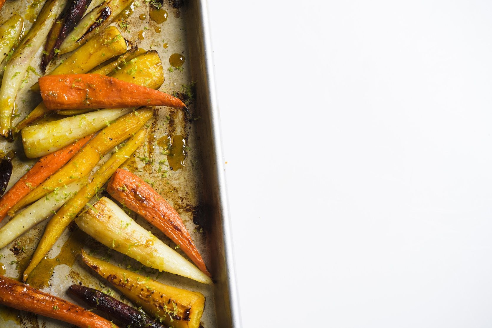 Roasted Carrots with Turmeric-Honey
