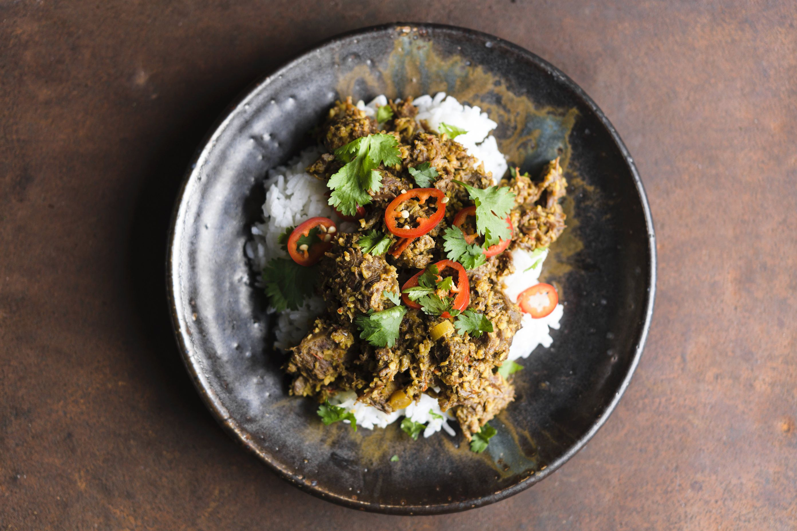 Indonesian Coconut-Curry Beef
